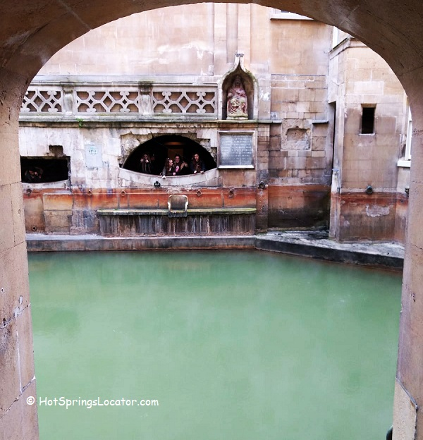 Thermal Experience - Roman-built baths in the city of Bath, England